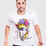 Camisetas de algodon, ilustracion